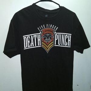 Shirts - FIVE FINGER DEATH PUNCH T-SHIRT 👕 Music Tee 5FDP